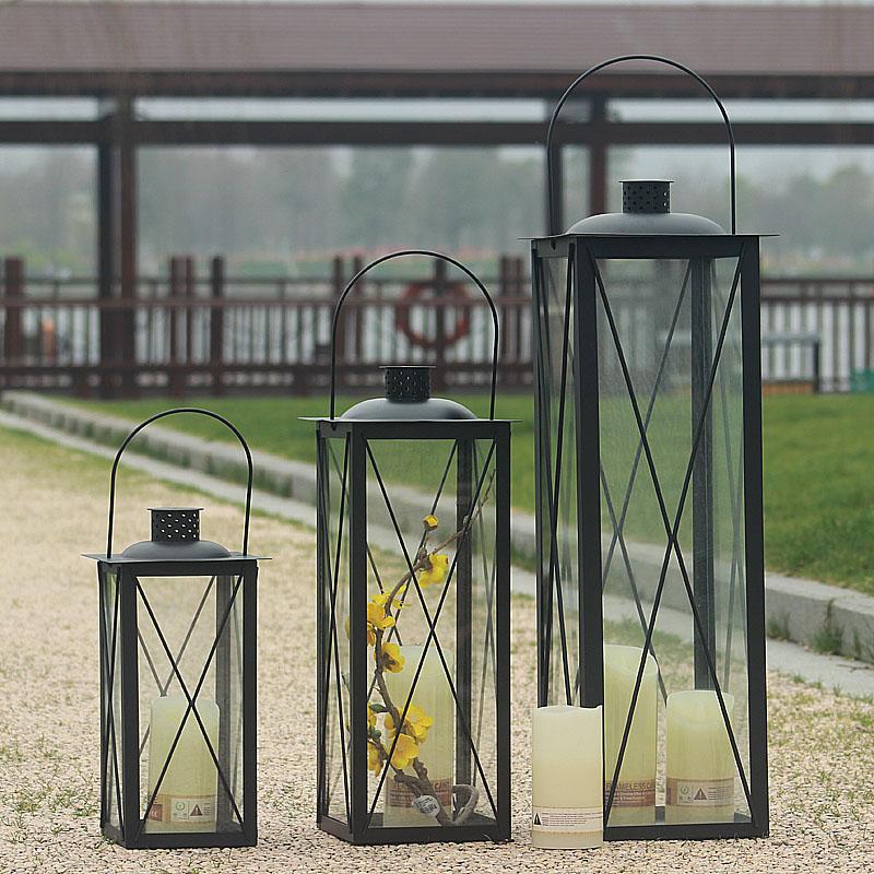 Candle Holders Gl Nordic Minimalist