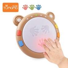 Tumama baby Hand Klatschen Trommel Musik Spielzeug Frühe Pädagogische Baby Intelligenz Trommel Lernen Musical Spielzeug Geschenke Für Babys