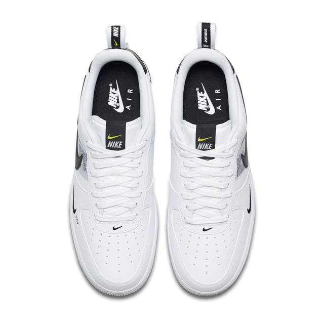 US $71.5 35% OFF|Nike Air Force 1 Men's Skateboarding Shoes Leather AF1 Comfortable Outdoor Sports Sneakers AJ7747 100 Hot sale on AliExpress