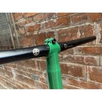 Titanium s handlebar 25.4x560mm lightweight Ti bar fit brompton bike BMX universal black silver