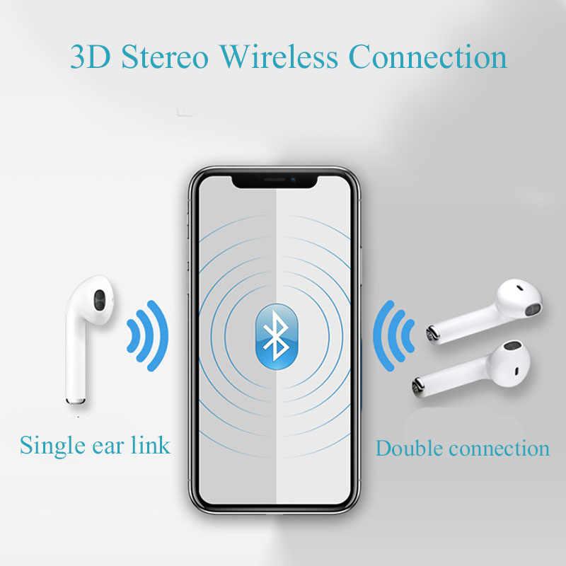 I7s Tws Bluetooth écouteurs Sport sans fil écouteurs écouteurs avec cosses de charge pour Apple iPhone Xiaomi Huawei Samsung