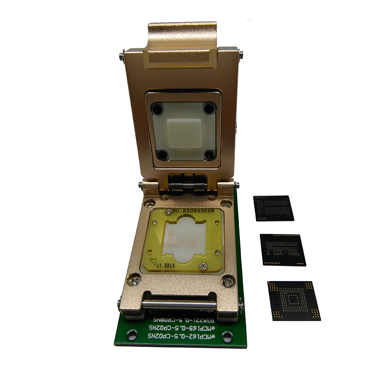 ANDK 3 IN 1 eMMC153/169 eMCP162/186 eMCP221 Test <font><b>Socket</b></font> Reader BGA153 <font><b>BGA169</b></font> BGA162 BGA186 BGA221 Data Recovery Clamshell <font><b>socket</b></font> image