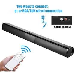 Bluetooth-звуковая панель, проводная Беспроводная стерео-звуковая панель для телевизора 2000 мАч, аудиоколонка с сабвуфером, поддержка TF-карт/RCA/FM,...
