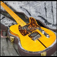 In Stock Fast Shipping TL Anderson Electric Guitar Z-ZS2 3A Flamed Maple Top Yellow Color Fast Delivery Good Quality 1951 fd classics type tl electric guitar flamed ample top