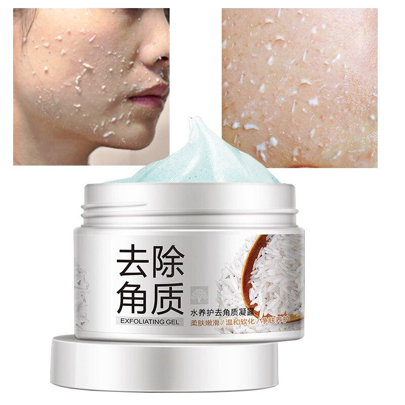 Exfoliating Face Cream Body Scrub Peeling Gel Foot Hand Organic Hydration Facial Scrubs Exfoliante Cleanser Dead Skin Care M