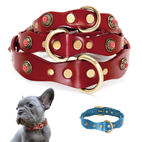 genuine-leather-dog-collar-pet-puppy-collar-for-small-medium-dogs-french-bulldog-collars-heavy-duty-pet-accessories-red-blue-xs