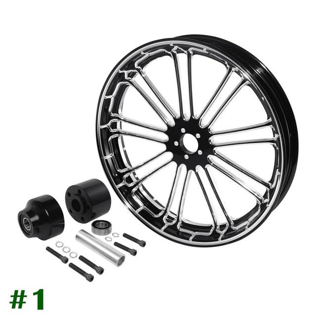 "Motorcycle 26"" x 3.5"" Front Wheel 6"