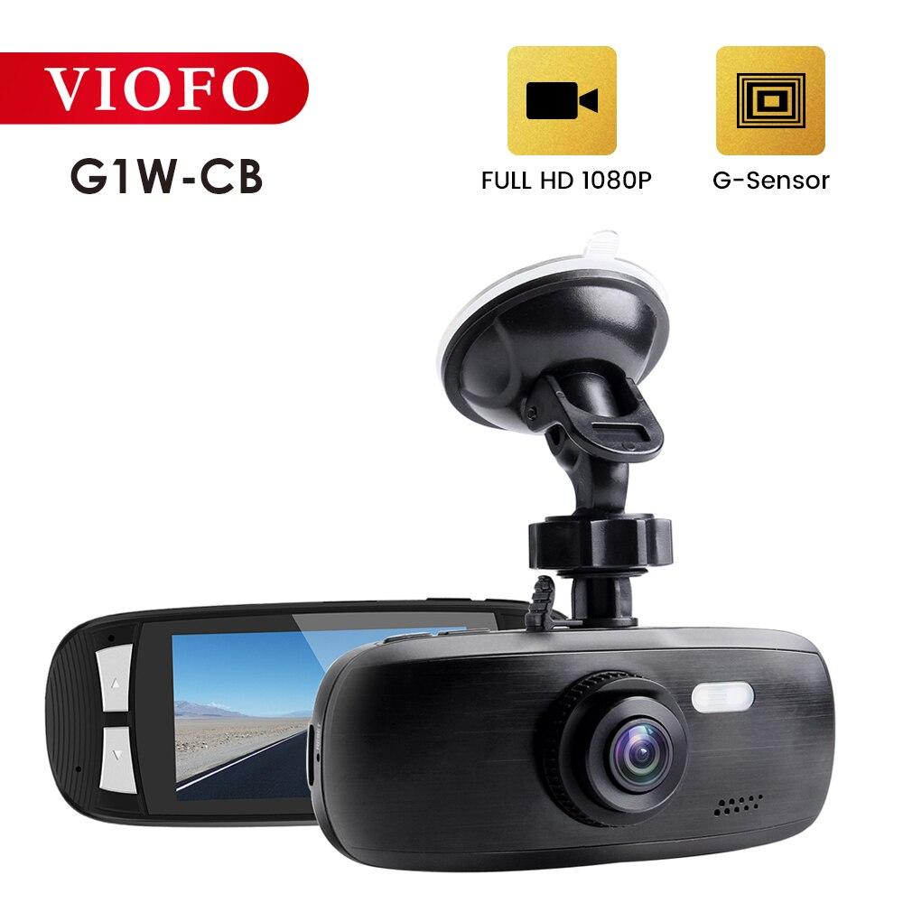 VIOFO G1W-CB Автомобильный видеорегистратор Автомобильная камера видео рекордер 1080P HD ночное видение видеорегистратор с g-сенсором Авто рекорде...
