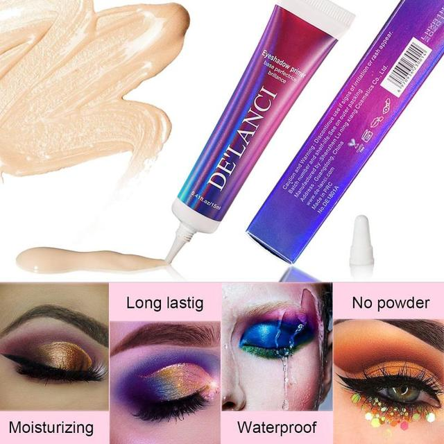Glitter Primer Long Lasting Eyeshadow Color Special Primer For Eyes Light Milk Cream Texture Eye shadow Primer Makeup TSLM1