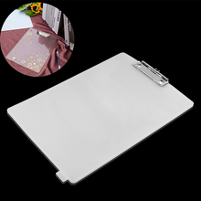 Transparent Rectangle Shape Board Silicone Folder Resin Molds File Epoxy UV DIY Jewelry Craft Handmade Making Tools Accessories