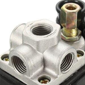 Image 4 - Compresseur dair, petit régulateur dair, 7.25 à 125 PSI, avec interrupteur de contrôle 15a 240V/AC réglable, quatre trous