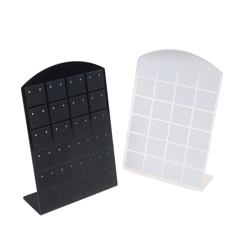1Pcs 48 Hole Earring Display Stand Or Convenient Jewelry Holder Show Case Tool