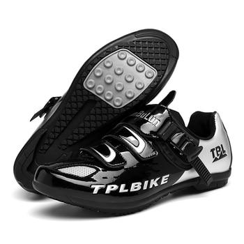 New MTB Sneakers Men Women Cycling Shoes Self-locking Road MTB Bike Sneaker Professional Damping Size 36-46 Sports Shoes 16