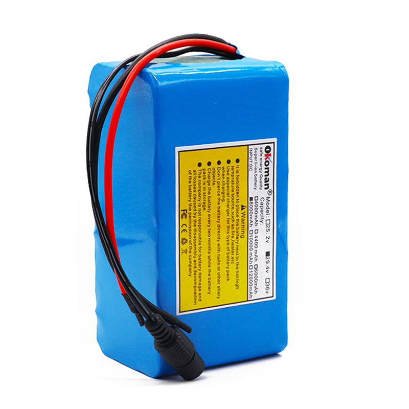 7s3p 24V 8Ah 18650 Battery li-ion battery pack 29.4v 8000mah Electric bicycle moped /Li-ion battery pack with BMS