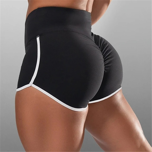 Women's Summer Sport Shorts Casual Shorts Grey Workout Waistband Skinny Sexy Short Drop Comfortable Breathable Shipping 2020 New 1