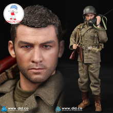 DID A80129 WWII 1/6 US 77th Infantry Division Captain Sam Action Figure Model Military Male Soldier Figures
