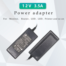 Power Supply DC 12V 3.5A Adapter Volt for LED notebook digital screen