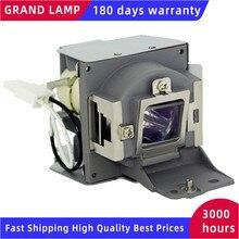 החלפת מנורת מקרן עם דיור MC.JFZ11.001 OSRAM P VIP 210/0.8 E20.9N מנורת עבור Acer P1500 H6510BD 180 ימים אחריות