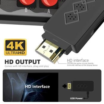 Data Frog USB Wireless Handheld TV Video Console Build In 1700 Games for NES Retro Dendy Console Portable Retro Game Stick 2