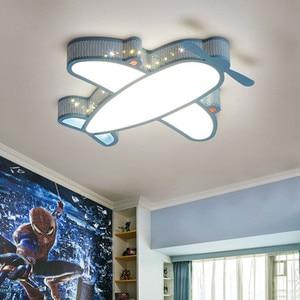 Image 3 - Modern Simple Novelty Cartoon Cute Animal LED Kid Airplane Ceiling Light Lamp Nursery Kids Baby Child Room Bedroom Home Lighting