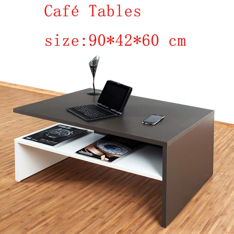 Vintage Coffee Table Wooden Sofa Side Table End Table Home Computer Desk Storage Holders Home Living Room Furniture HWC