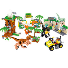 Jurassic Blocks World Forest Baby Dinosaur Eggs Figure Bricks  Toys For Children B802