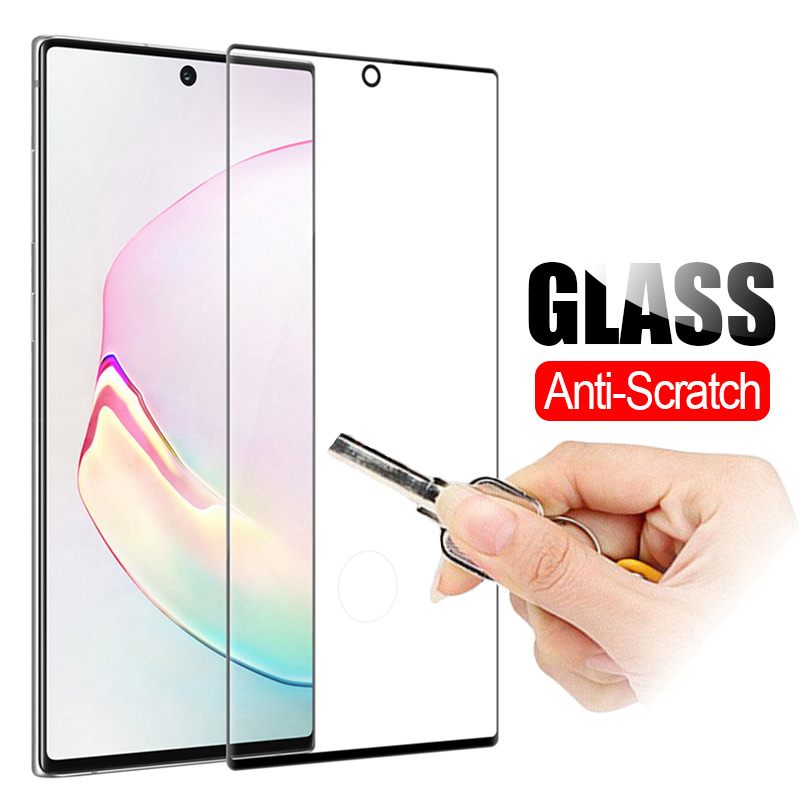 Original 3D Protective Glass For Samsung Galaxy Note 10 Pro Tempered Glass on For Samsung Note 10 S10 Plus S 10 Note10 Plus Film