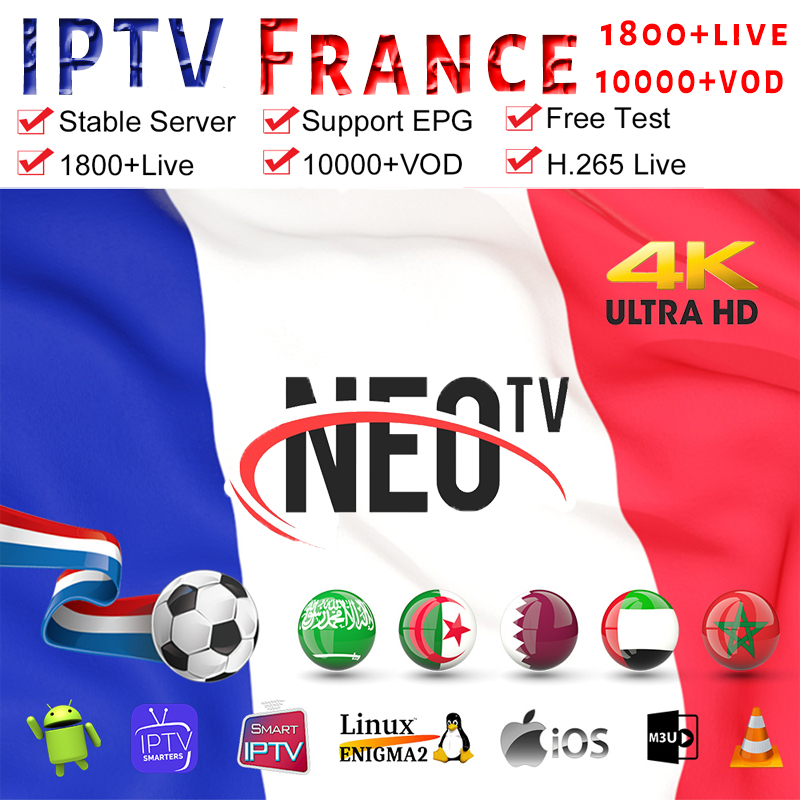 Subscription Iptv France Belgium Netherlands Iptv Code Smarters Pro M3U List Germany Dutch Arabic French Neo Ip Tv Subscription