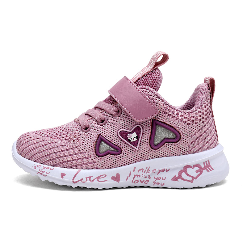 Girls Casual Shoes Light Mesh Sneakers