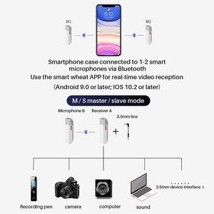 Image 5 - SabineTek SmartMike + Bluetooth Không Dây Lavalier Microphone Cho Máy DSLR Camera Điện Thoại Máy Tính Ve Áo Mic Vlogging Youtuber Ghi Âm