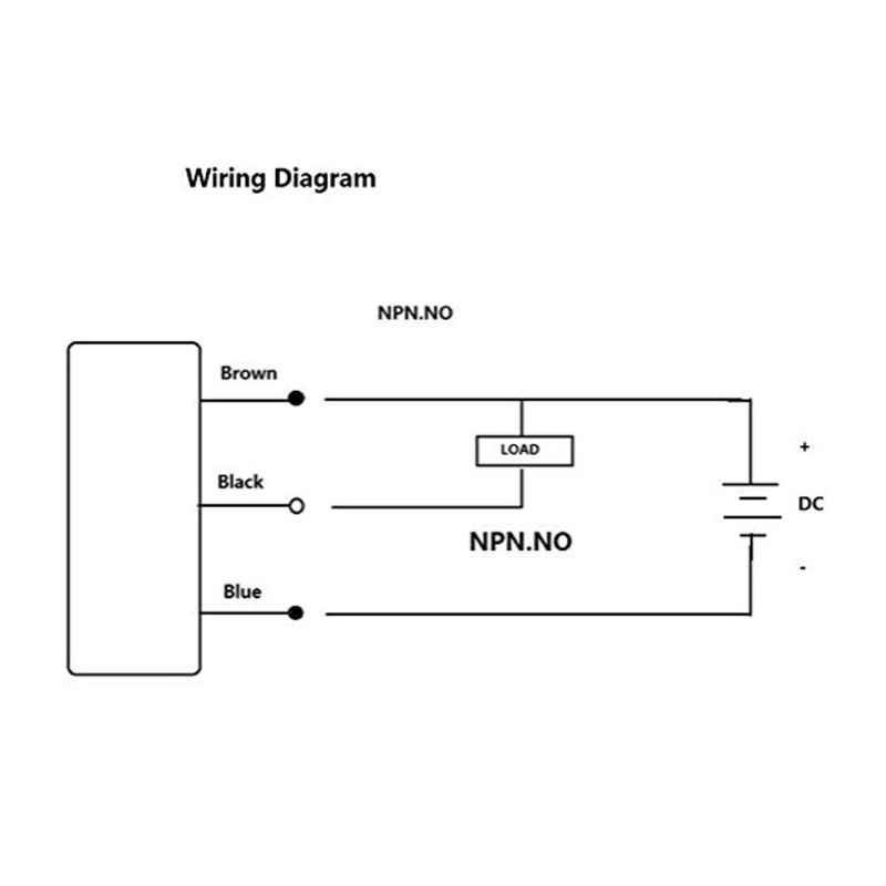 SN04-N 3D Printer Auto Leveling 5 Mm Induktif Proximity Sensor Switch Detector 94PC