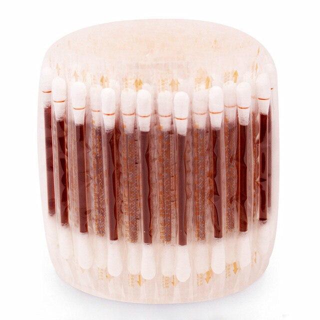 10-30-50-100Pcs Iodine Cotton Sticks Swab 8
