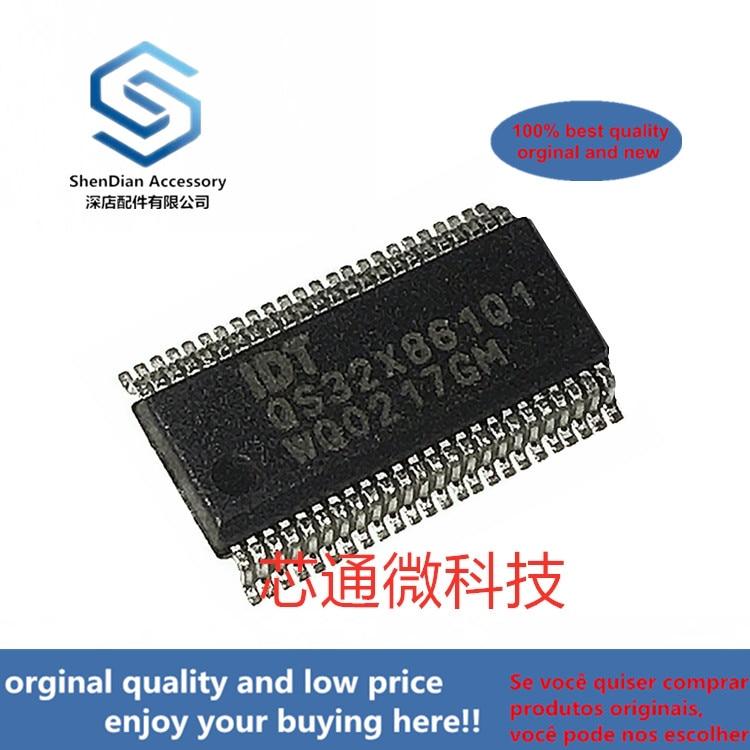 2-10pcs 100% Orginal New Best Qualtiy IDTQS32X861Q1 SSOP48 QUICKSWITCH PRODUCTS HIGH-SPEED CMOS 20-BIT BUS SWITCH Real Photo