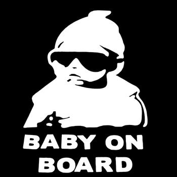60% HOT SALES Baby on Board Car Trunk Body Bumper Window Styling Decorative Decals Sticker image