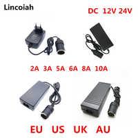 AC 100 V-240 V 100V 220V a DC 12 V encendedor de coche AC/DC Adaptador convertidor de potencia del inversor transformador de suministro 12 voltios