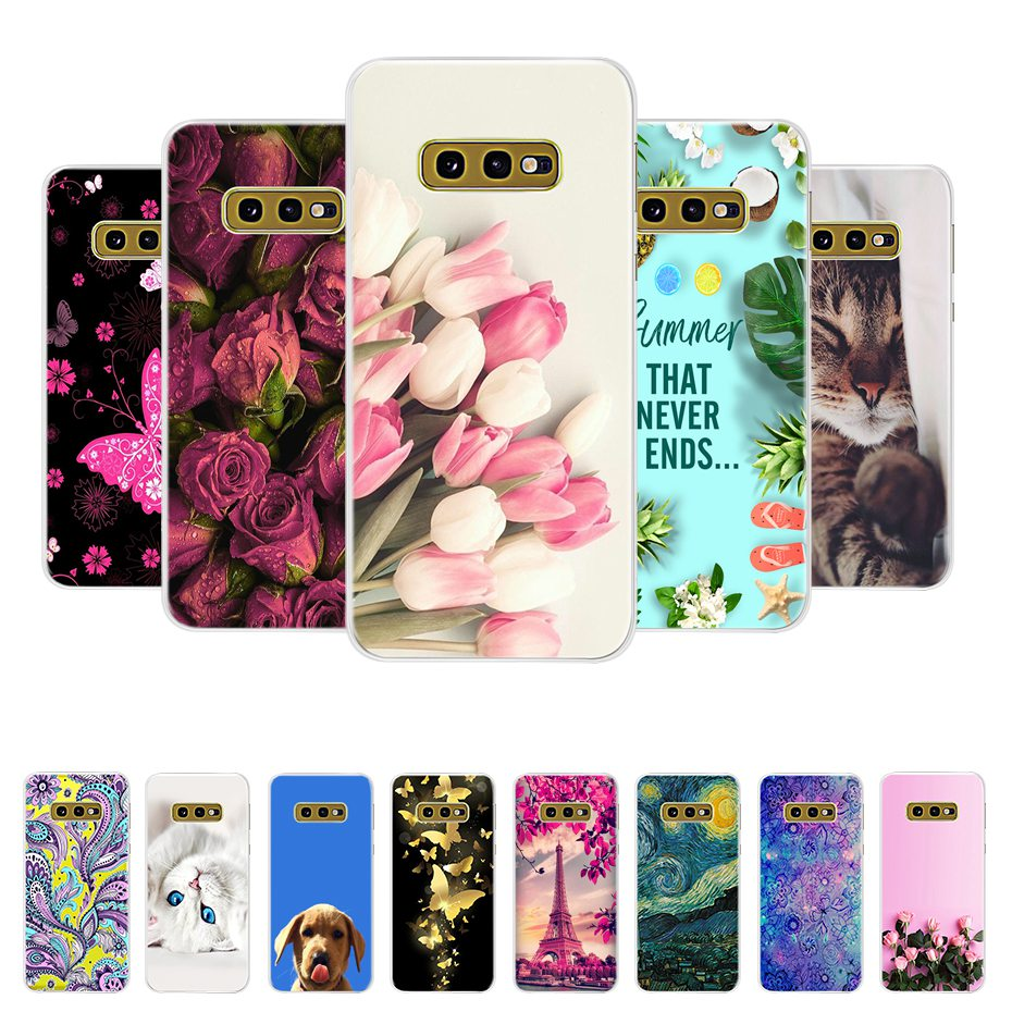 For Case Samsung <font><b>S10E</b></font> Cover Samsung <font><b>Galaxy</b></font> <font><b>S10E</b></font> S 10E S 10 E Phone Case Silicone Cute Soft Coque Bumper on For Samsung <font><b>S10E</b></font> Case image