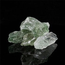 1pcs Natural Green Creastly Crystals Energy Rough Quartz Stones For Reiki Crystal Wire Wrapping