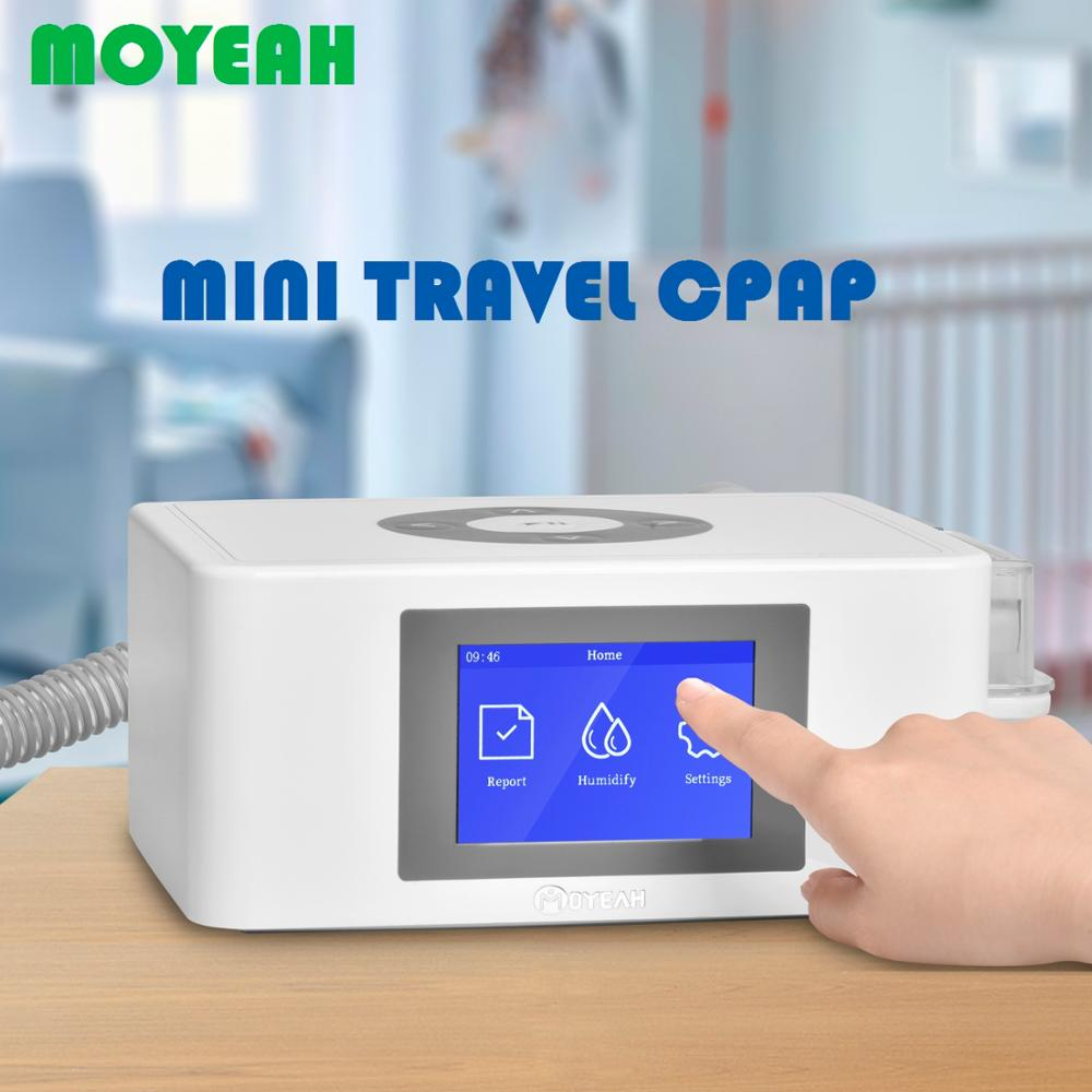 MOYEAH Portable Mini CPAP Machine to Stop Snoring with Nasal 16GB Micro SD Card 1