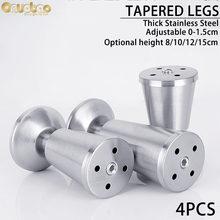 [onuobao] 4 шт из нержавеющей стали в форме чашки мебель для