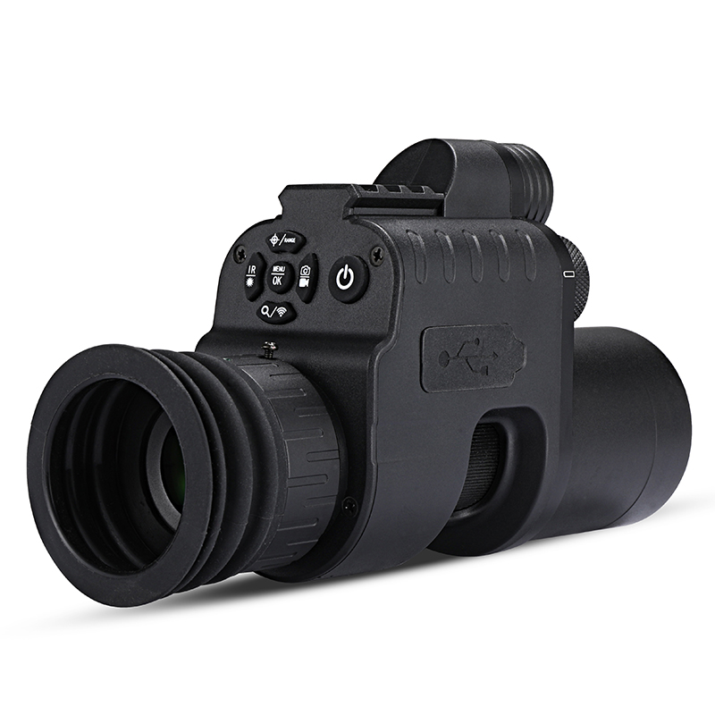 WG760 Infared Night Vision Scope 카메라 wifi APP 사냥 야간 투시경 Riflescope Red dot Sight IR 야간 투시경 광학 21mm Rail