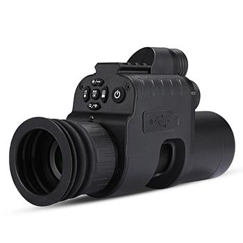 WG760 na podczerwień noktowizor kamera wifi aplikacji polowanie luneta z noktowizorem kolimator red dot IR Night Vision optyka szyny 21mm tanie i dobre opinie Wildgameplus Karabin Czerwona kropka Night Vision Scope Night Vision Riflescope 200M with wifi APP infrared night vision
