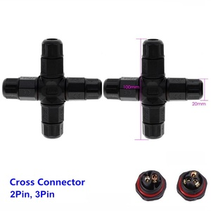 Image 5 - IP67 موصل كابل مقاوم للماء الكهربائية محطة سلك محول برغي 2pin 3pin ل 4/6/7.5/8/10 مللي متر