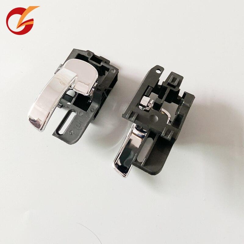 Utilizzare per nissan QASHQAI J10 anteriore porta posteriore porta interna maniglia cromata 2004-2013 lato destro e sinistro 80671-JD00E 80670-JD00E