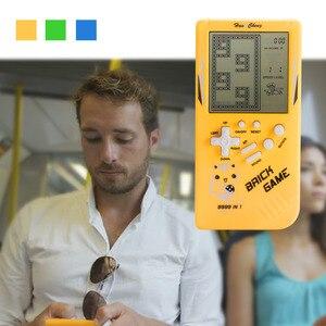Image 3 - Retro Handheld Spiel Spieler Tetris Klassische Kindheit Spiel Elektronische Spiele Spielzeug Spiel Konsole Rätsel Pädagogisches Spielzeug Für Kind