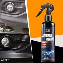 Spray de restauration du cuir et du plastique pour siège de voiture, outil de nettoyage et de renouvellement des roues, Agent de rénovation, D1V8