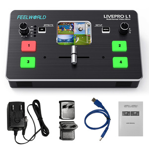 Image 5 - FEELWORLD LIVEPRO L1 Video Mixer Switcher 4 Channel Input USB3.0 Audio Embed De Embed for DSLR Video Live Streaming