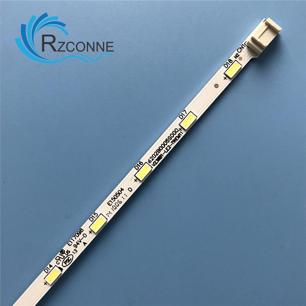 LED Backlight strip 18 lamp for LG INNOTEK 23.6 inch 24MT45D 22MA31D 24MT47D-PZ 24MT40D 24E510E V236B1-LE2-TREM11 V236BJ1-LE2 3