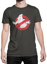 Camiseta unissex ghostbusters maglietta 100 cotone grafite
