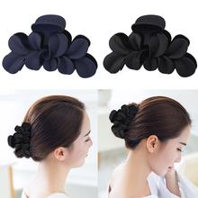1PC Big Flower Matte Hair Claws Women Clip Barrettes Claw Glossy Hairpins Fashion Accessories Wholesale