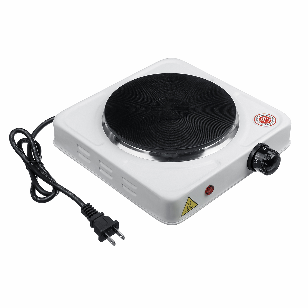 110V 1000W Mini Electric Stove Laboratory Electric Stove Adjustable Heating Furnace Heater Hot Plates